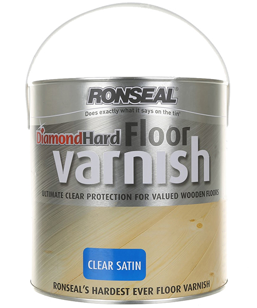 Ronseal Diamond Hard Floor Varnish 2.5L - Finishes Available